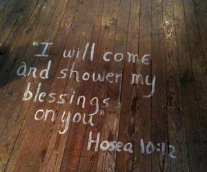 hosea, bible, and blessing image
