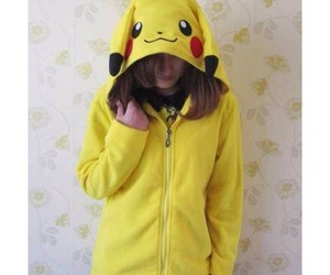 hoodie, pikachu, and pokemon image