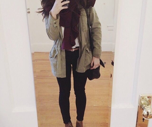 bolsa, invierno, and outfit image