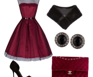 50s, black, and chanel image