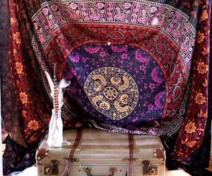beautiful, hippie, and room image