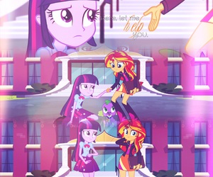 girly, MLP, and my little pony image