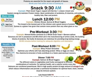food, healthy, and workout image