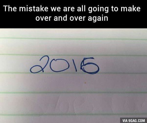 2016 and mistakes image