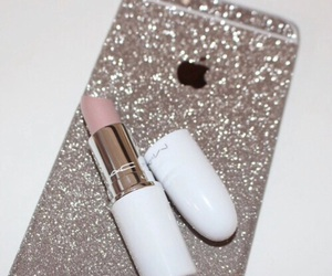 iphone, mac, and lipstick image