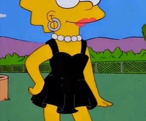 lisa, simpsons, and lisa simpson image