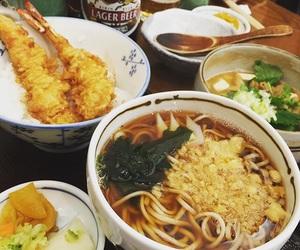 beer, food, and japan image