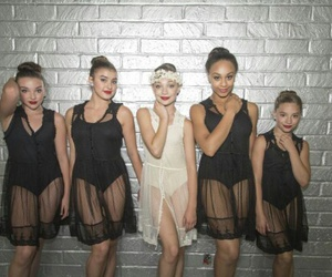 dance moms, nia, and maddie ziegler image