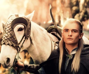Legolas, LOTR, and orlando bloom image