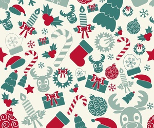background, christmas, and new year image