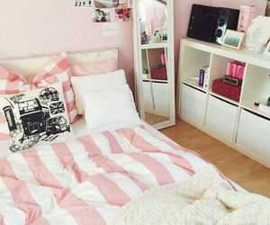 dream room, pink, and white image