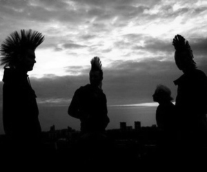 punk, hair, and Mohawk image