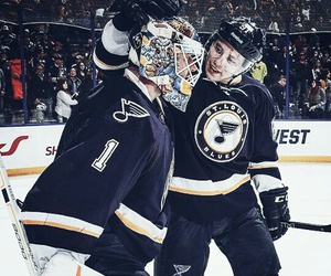 hockey, nhl, and st. louis blues image