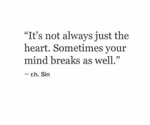 quotes, heart, and break image