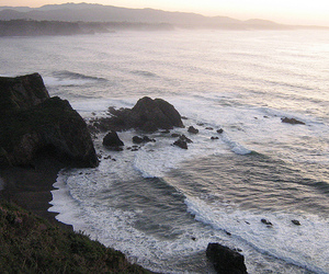 asturias, surf, and beach image
