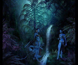 James Cameron, avatar movie, and fan made image