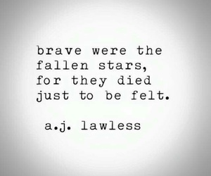 brave, Died, and fallen image