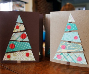 new year post cards diy image