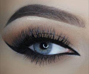 eye makeup, makeup, and fashion image