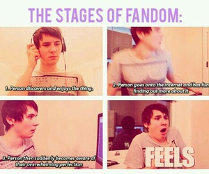 funny, music, and danisnotonfire image