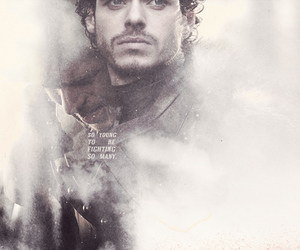 got, game of thrones, and robb stark image