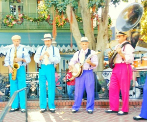 jazz, disneyland, and new orleans square image