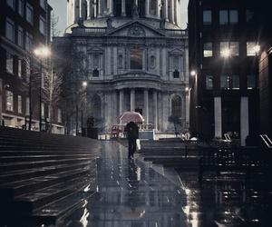 london and night image