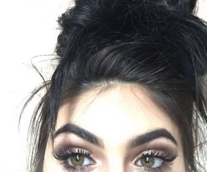 hair, eyebrows, and eyes image