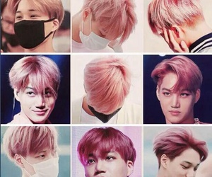 exo, kai, and pink image