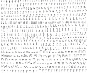 letters and pattern image