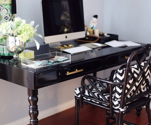 home, black, and luxury image