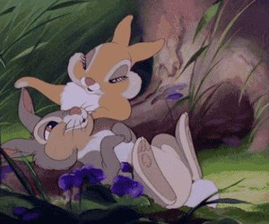 bambi, disney, and bunny image