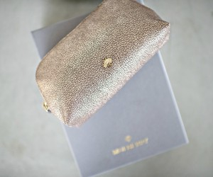 bag, clutch, and glitter image