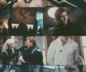 hunger games and finnick image
