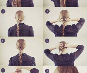 beautiful, hair, and creative image