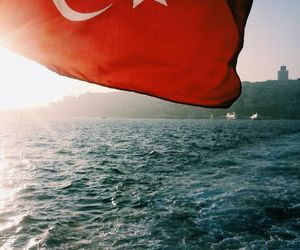 flag, photography, and turk image