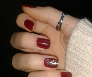 christmas, red, and christmasnails image
