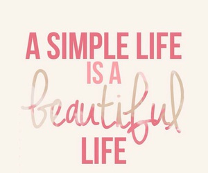 beautiful, life, and simple image