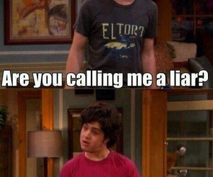 drake and josh, funny, and Liars image