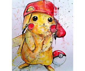 art, pikachu, and pokemon image