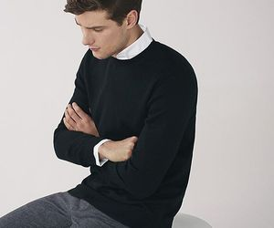 sweater, fashion, and model image