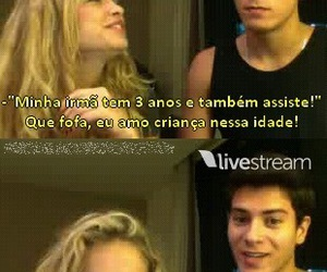couple, twitcam, and lua blanco image