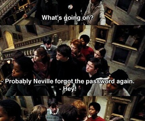 harry potter, hogwarts, and neville longbottom image