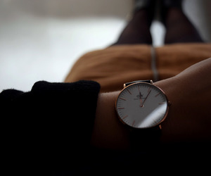 girl, style, and watch image