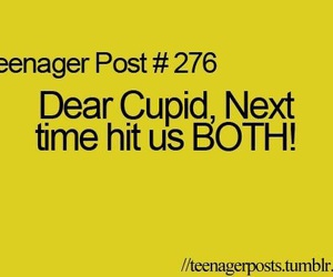 cupid and teenager post image