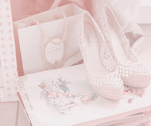 shoes, pink, and vintage image