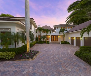 architecture, florida, and garden image