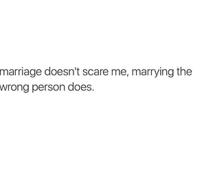 life, marriage, and quote image