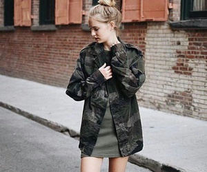 coat, dress, and fashion image
