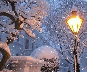 snow, snowing, and beautiful image